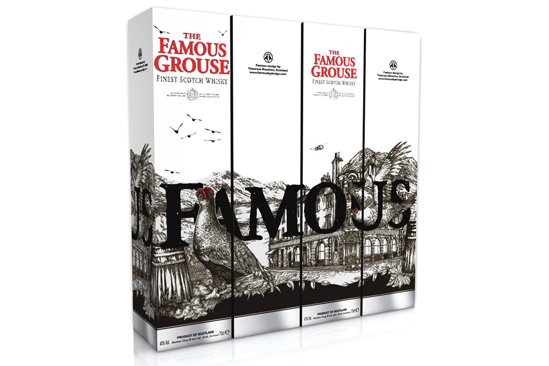 The Famous Grouse Packaging