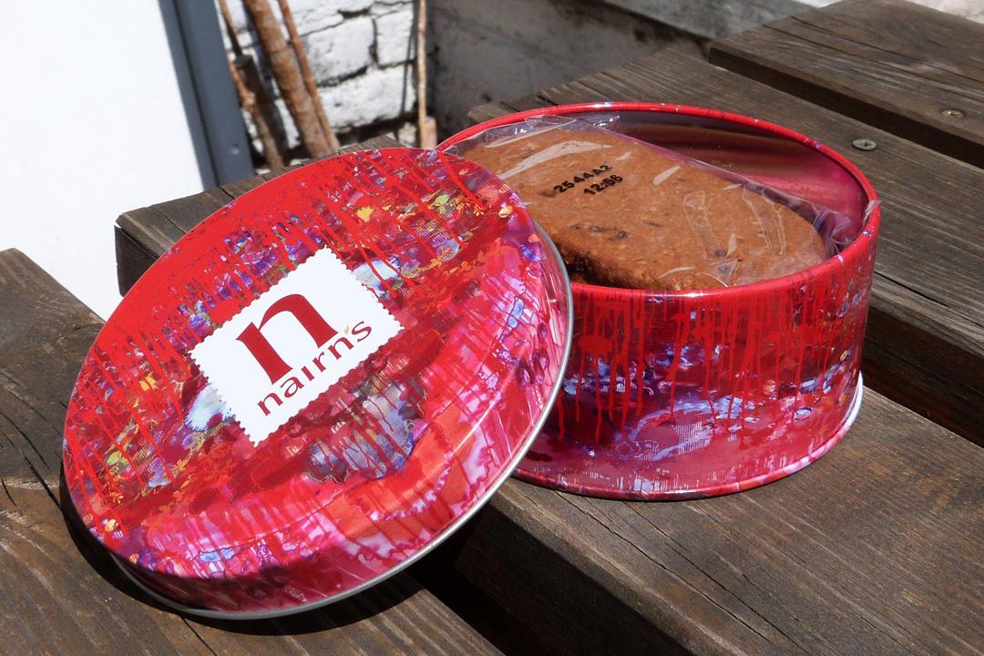 Nairn's Oatcakes Tin