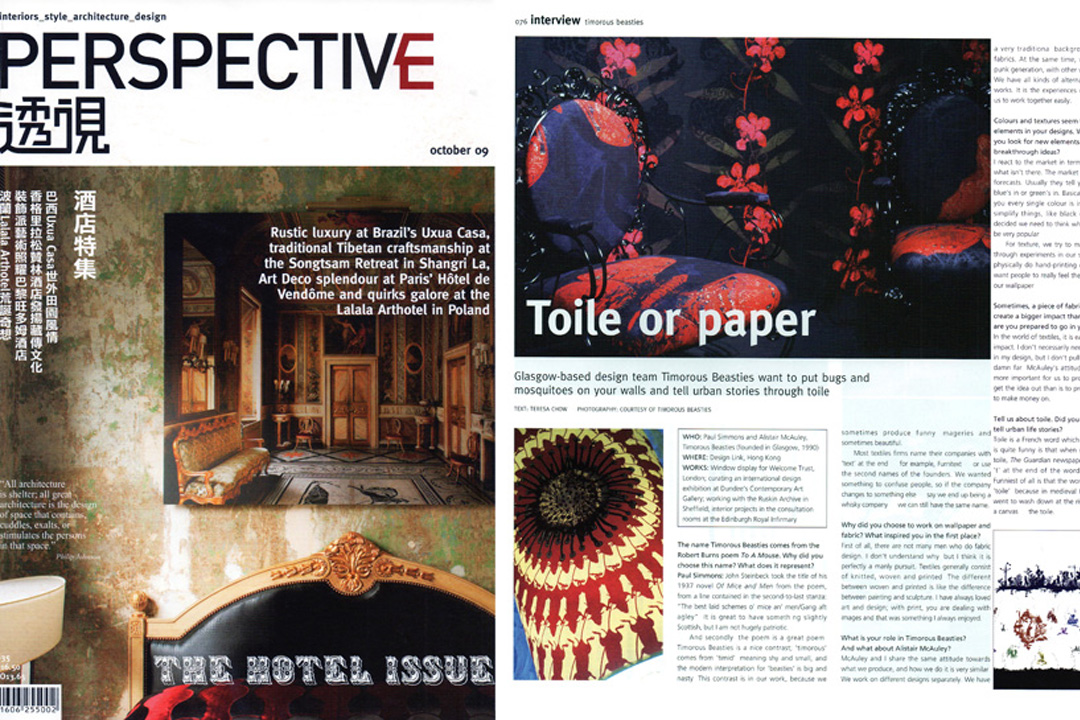 Perspective Magazine October 2009