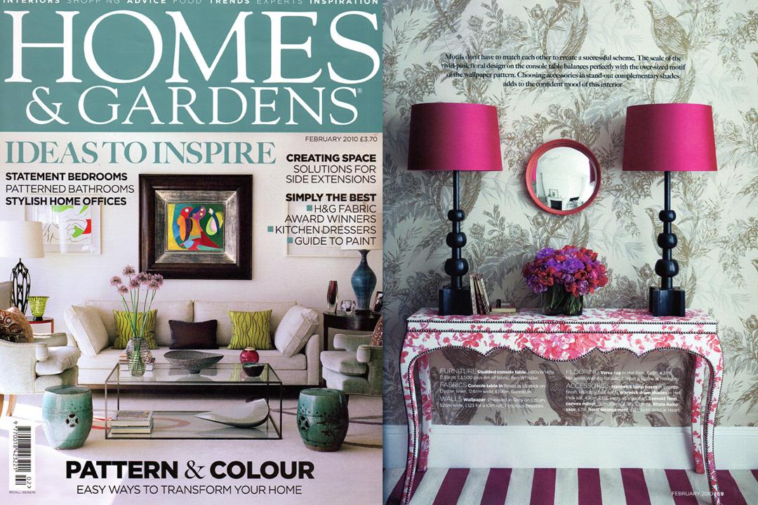 Homes & GardensMagazine, February 2010