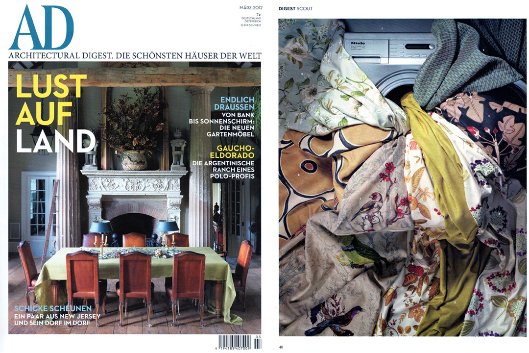 Architectural Digest Germany, March 2012