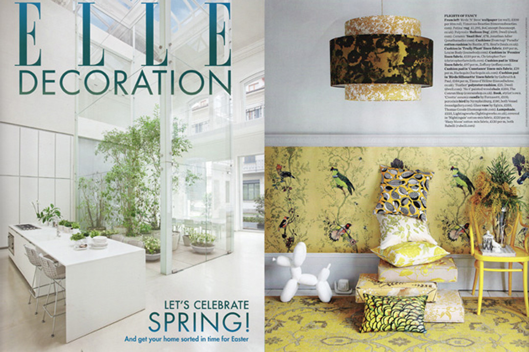 Elle Decoration, April 2012