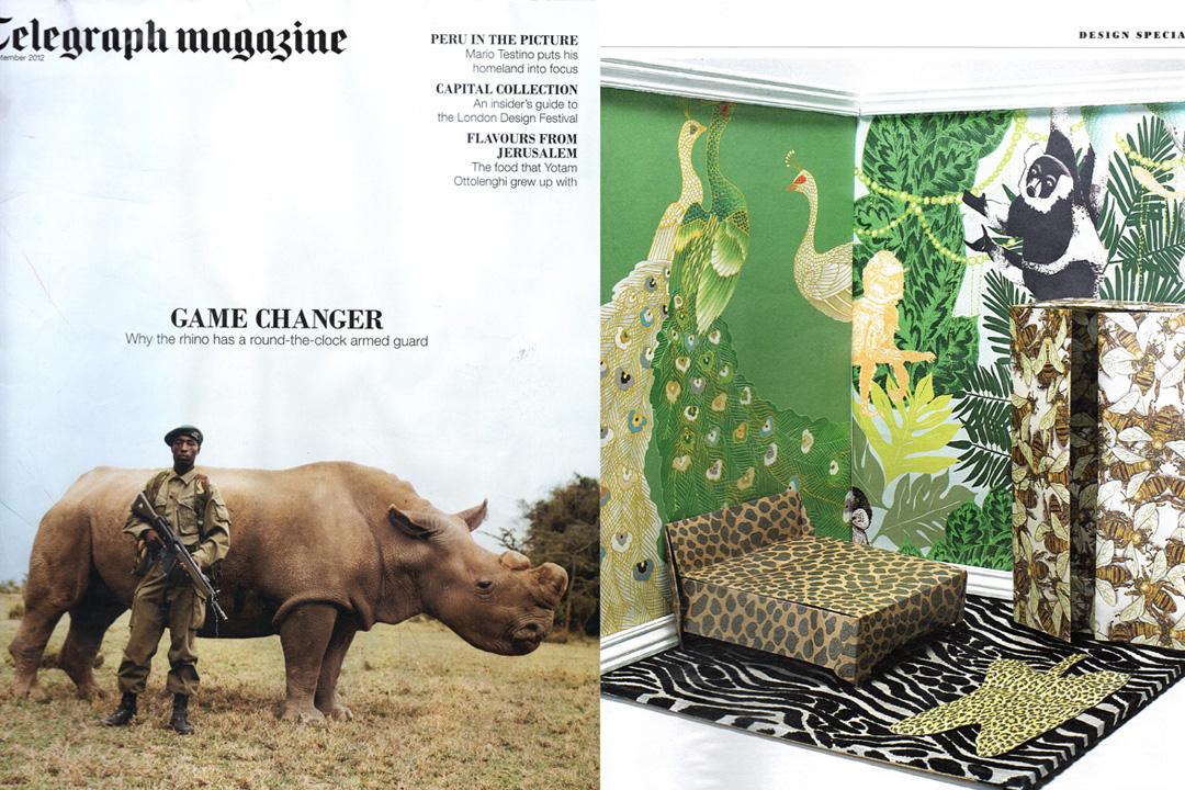 Telegraph MagazineSeptember 2012.