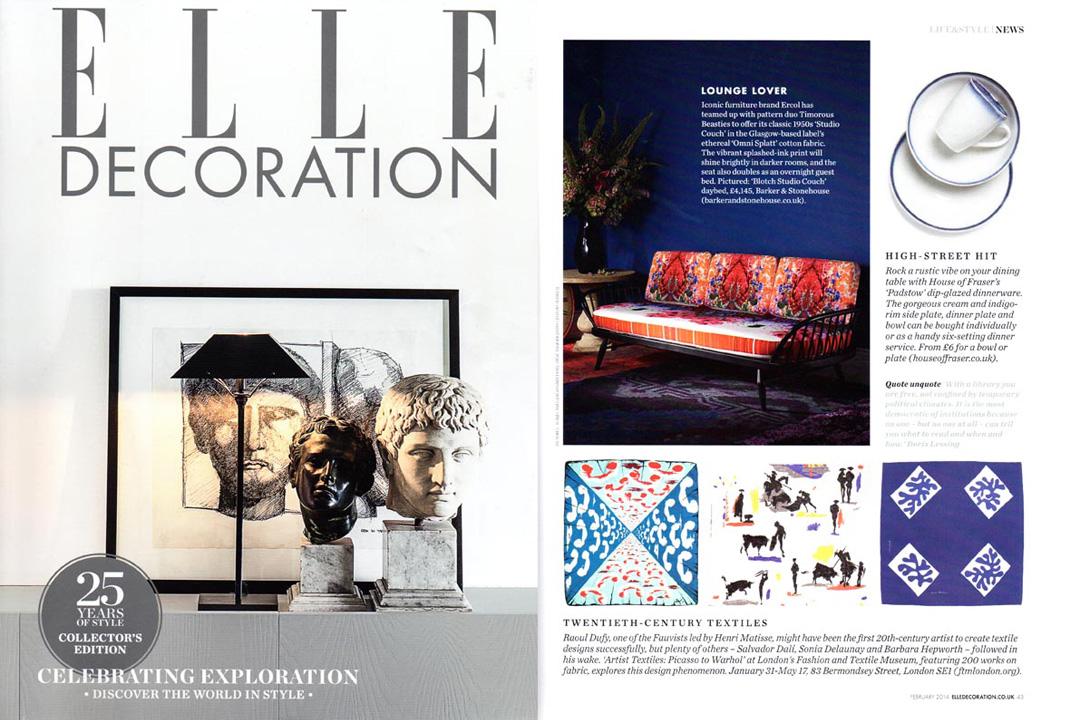 Elle Decoration, February 2014