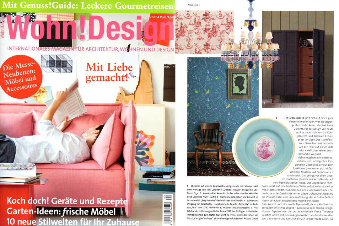 Wohn! Design, March 2014