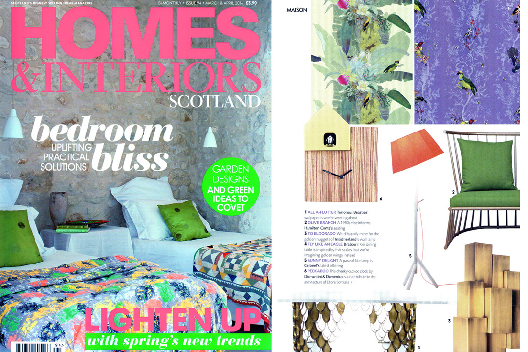 Home & Interiors Scotland, March April 2014
