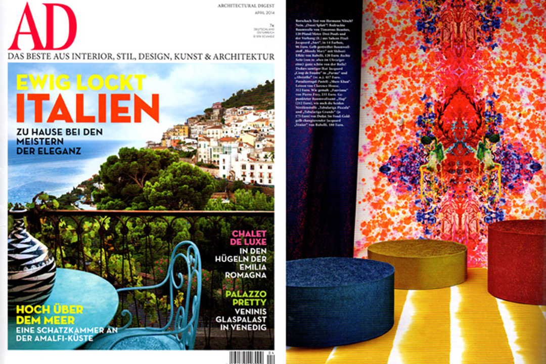 Architectural Digest Germany, April 2014