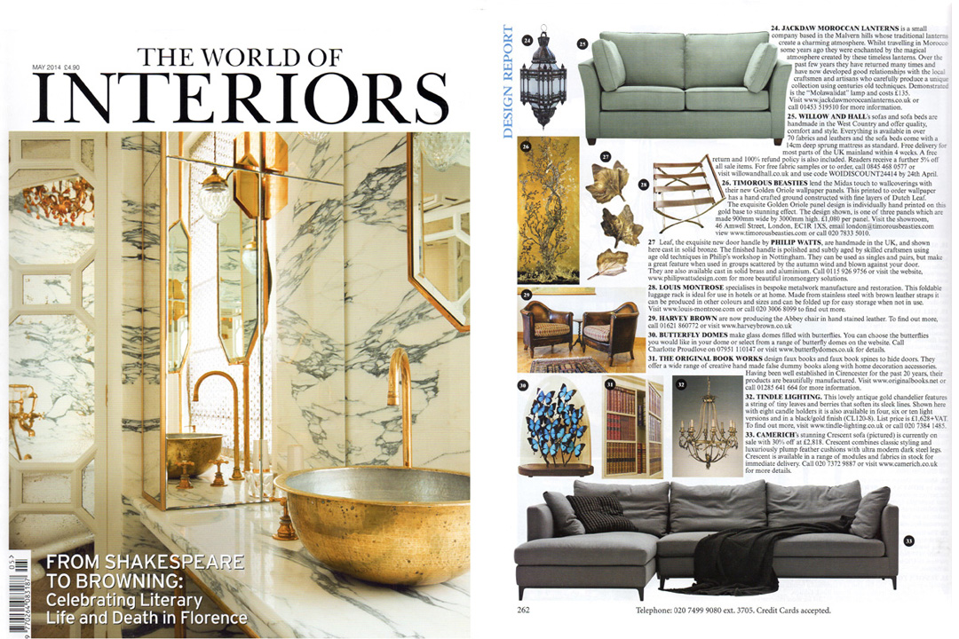 World of Interiors, May 2014
