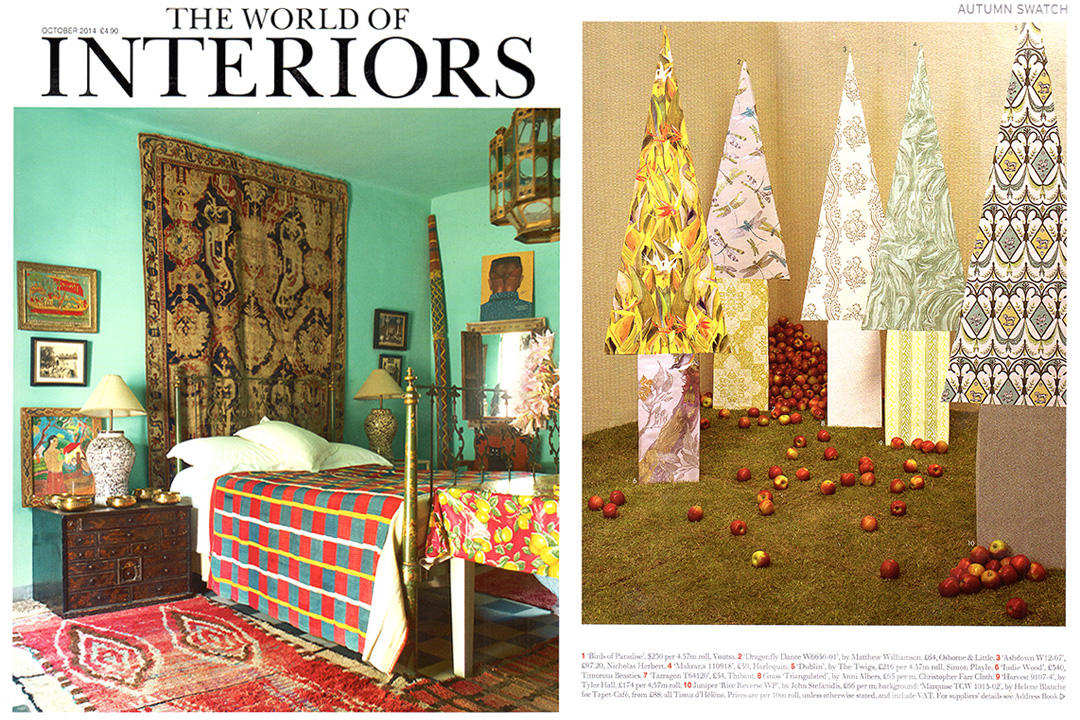 The World of Interiors, October 2014