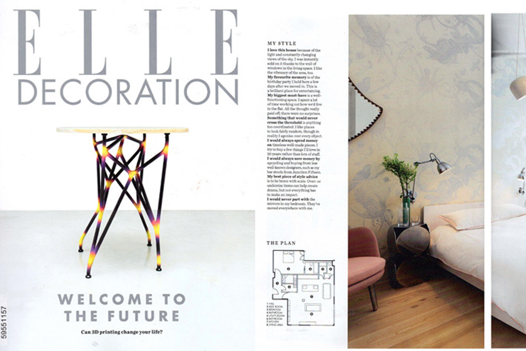 Elle Decoration 2014.