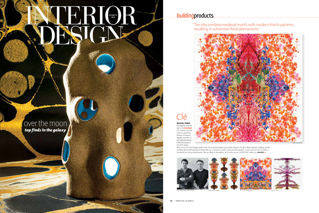 Interior Design, October 2014