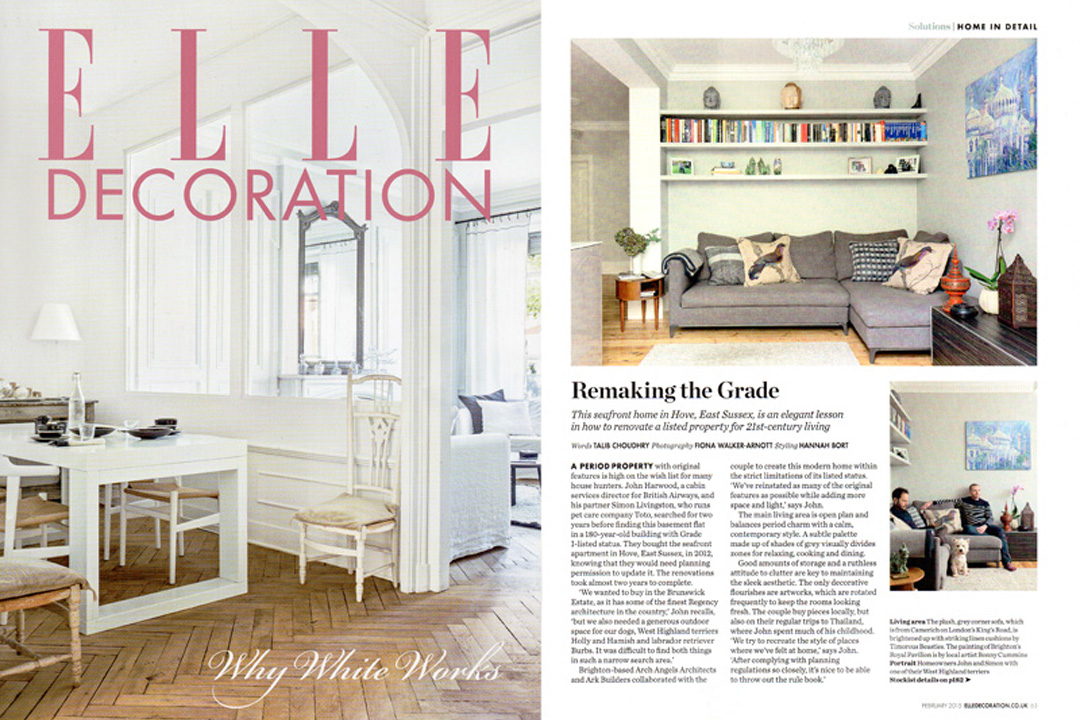 Elle Decoration, February 2015