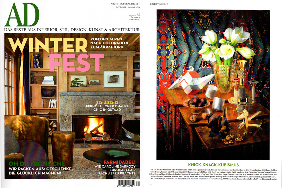 Architectural Digest Germany, December 2014