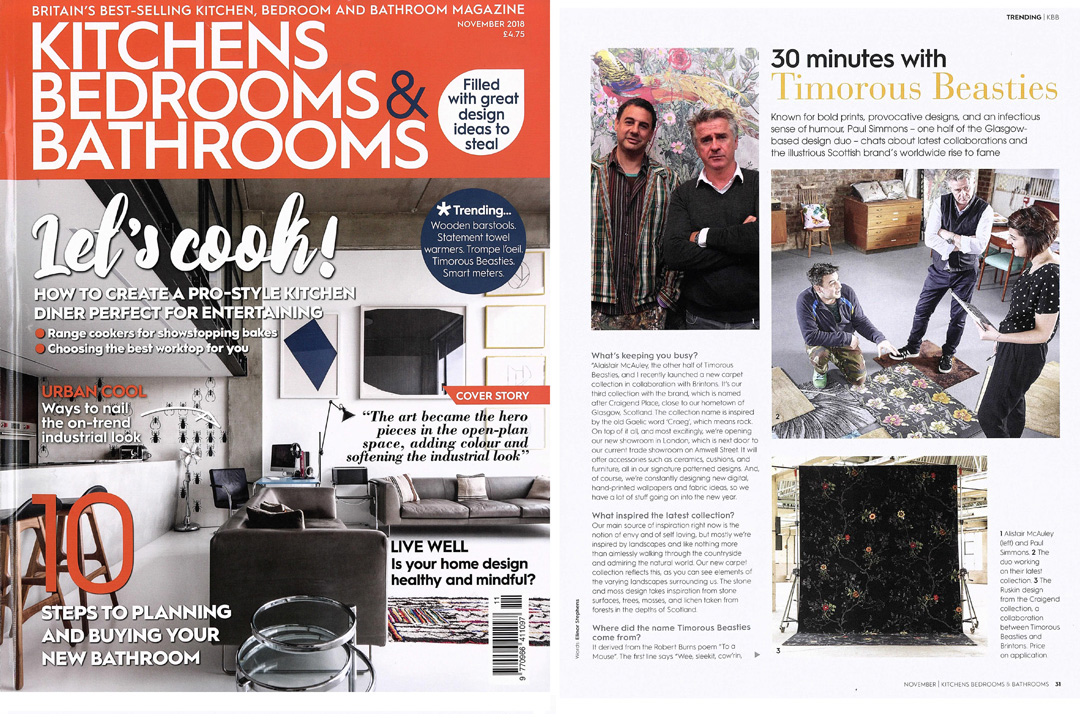 Kitchens, Bedrooms & Bathrooms, November 2018