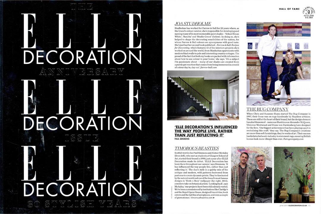 Elle Decoration, June 2019