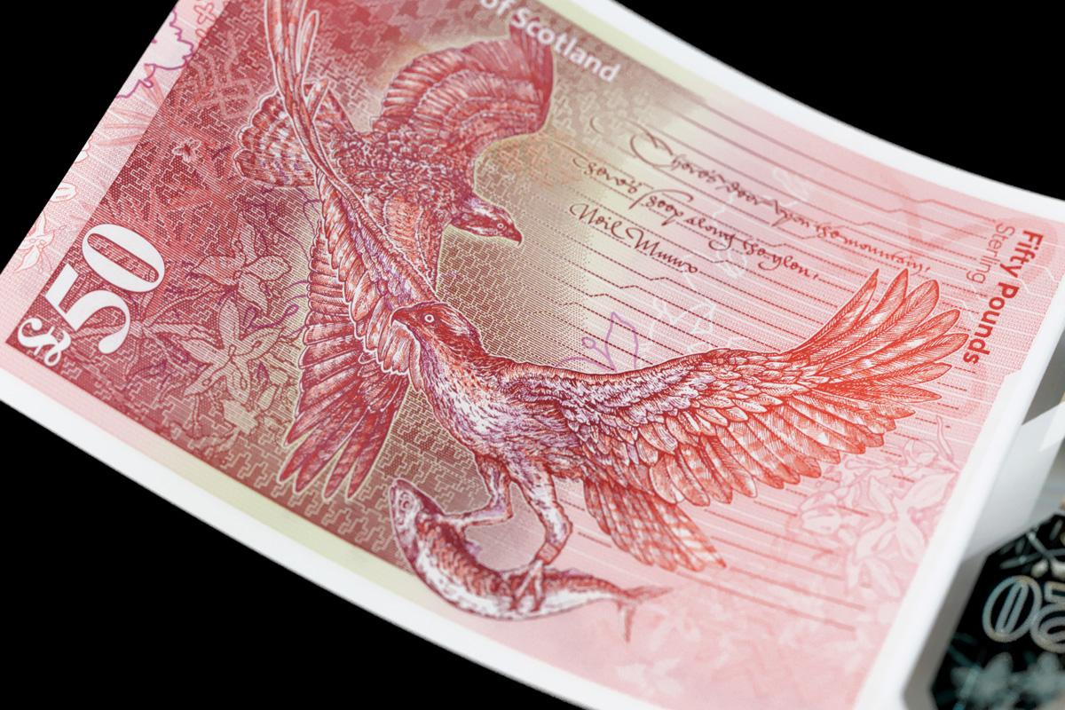 Royal Bank of Scotland £50 note
