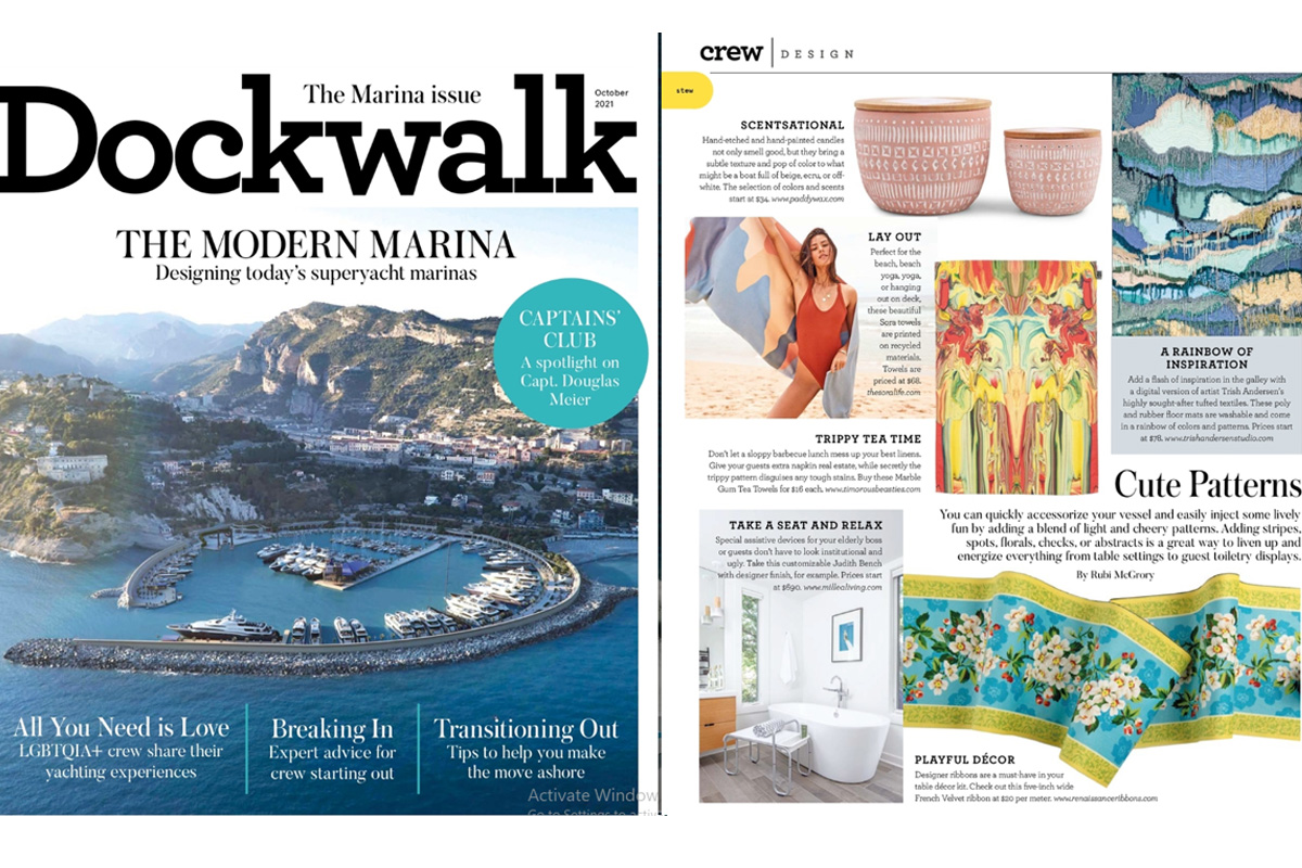 Dockwalk Magazine, October 2021
