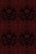 Colour Black on Crimson