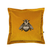 Colour Black & Pale Gold Bee on Honey Velvet